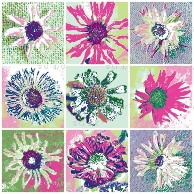 Dried Daisies Patchwork