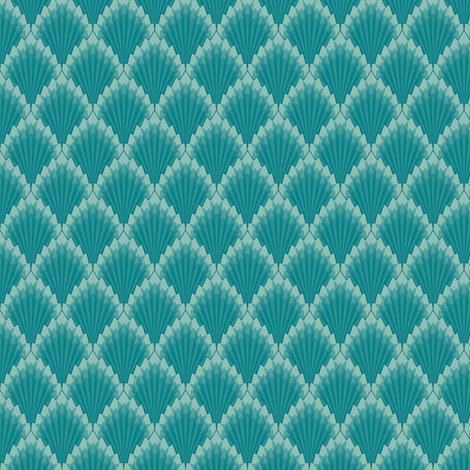 Deco Geometric fabric by gail_mcneillie on Spoonflower - custom fabric