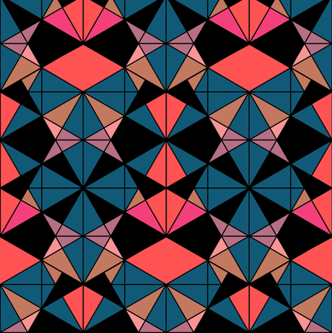 Geometrics fabric by kimsa on Spoonflower - custom fabric