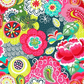 Flower disco