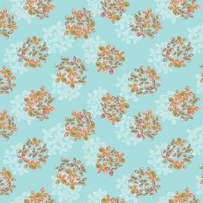 Hydrangea bunches