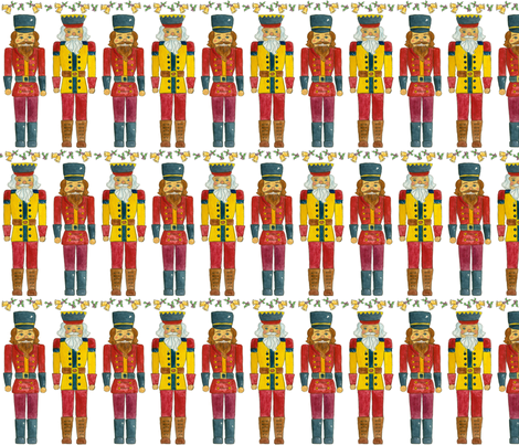 Nutcrackers fabric by countrygarden on Spoonflower - custom fabric