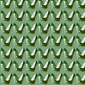 Electric Stilettos (camoflage print)