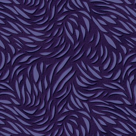 Purple Senate Flames fabric by bonnie_phantasm on Spoonflower - custom fabric