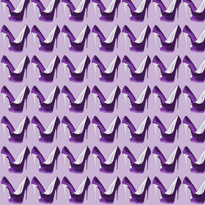 Electric Stilettos (purple on lilac)