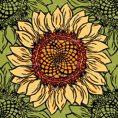 Sunflower goes Retro
