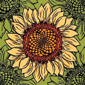 Sunflower goes Retro