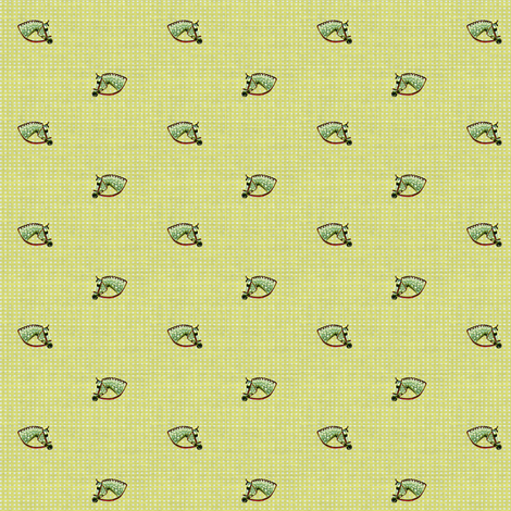 Pretty Dappled Faces fabric by ragan on Spoonflower - custom fabric