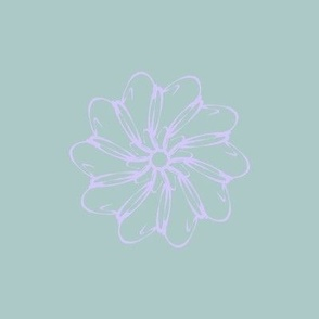Flowery delicate