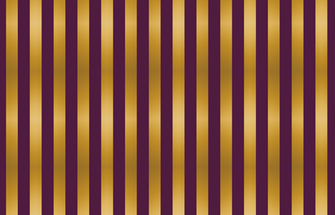 Stripes Purple And Gold Fabric Kellyw Spoonflower