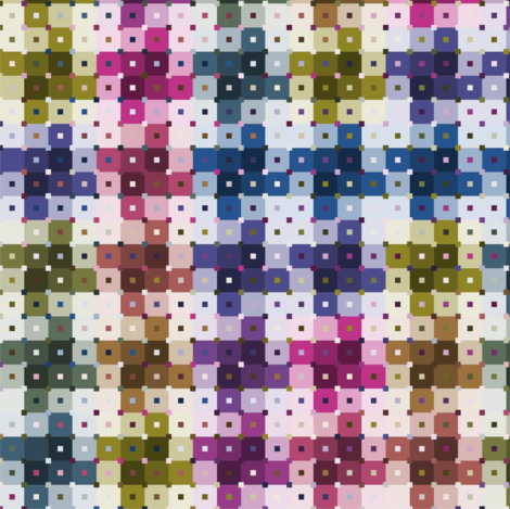 Pinwheel Squared fabric by candyjoyce on Spoonflower - custom fabric
