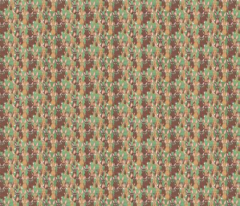 Bunnies fabric by linsart on Spoonflower - custom fabric