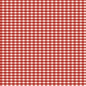 Old Fashioned Gingham - Tomato
