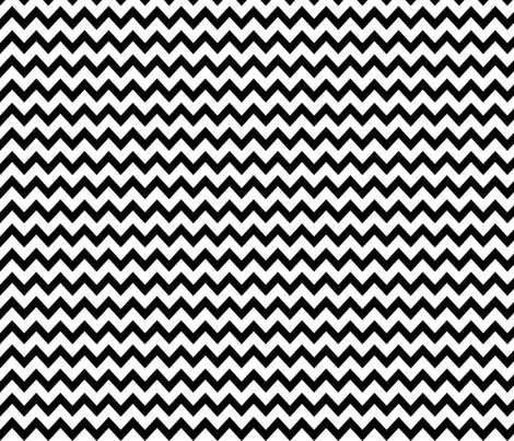BLACK__WHITE_CHEVRON fabric by mammajamma on Spoonflower - custom fabric