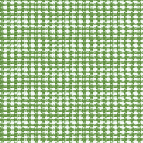 Old Fashioned Gingham - Basil fabric by mjdesigns on Spoonflower - custom fabric