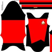 Tiny captain four red designs