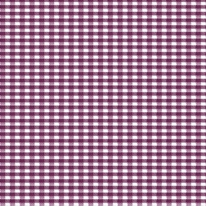 Old Fashioned Gingham - Blackberry