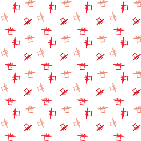 P-38 Sunset Pattern fabric by avkat on Spoonflower - custom fabric