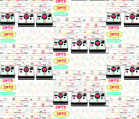8x8 swatch Camera Icons for applique fabric by allisonkreftdesigns on Spoonflower - custom fabric