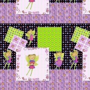 Happy Fairy Birthday Collage