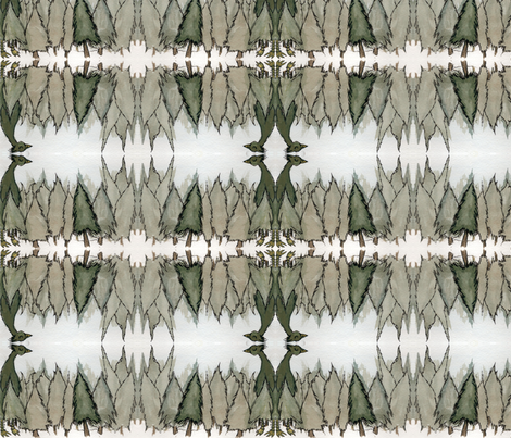 mysterious forest fabric by laigrai on Spoonflower - custom fabric