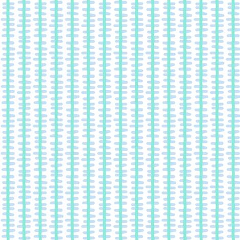 din-o-stripe (bl-teal)  fabric by pattyryboltdesigns on Spoonflower - custom fabric
