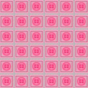 Pink on Gauzy Weave