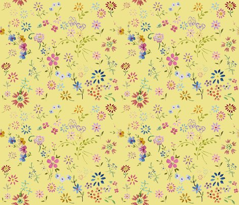 Ditsy_flowers_yellow_shop_preview