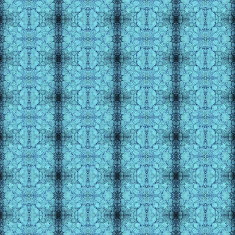 BLOOZ Blue fabric by suedudadesigns on Spoonflower - custom fabric