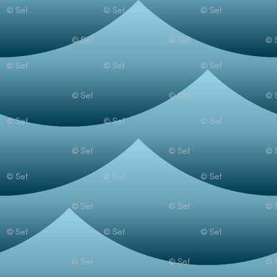 gradient wave zigzag - sailing
