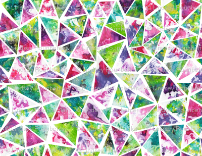 Cool Triangle Mosaic Pattern