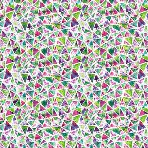 Cool Triangle Mosaic Pattern
