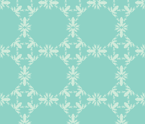 Dancing Frog Leg Trellis  fabric by lisakling on Spoonflower - custom fabric