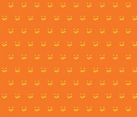 jordnöt pumpkin fabric by wildolive on Spoonflower - custom fabric