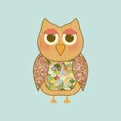Woodland Owl Pattern