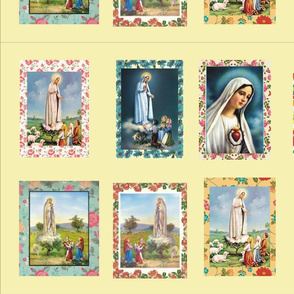 Our Lady of Fatima Pannel