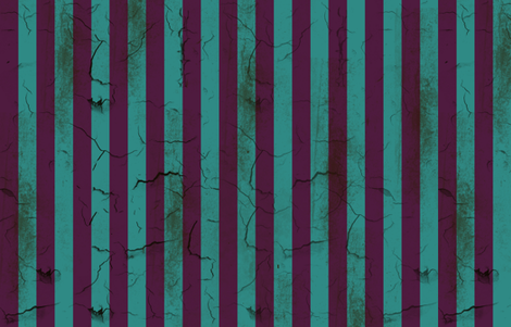 Distressed Stripes Purple and Teal fabric by kellyw on Spoonflower - custom fabric