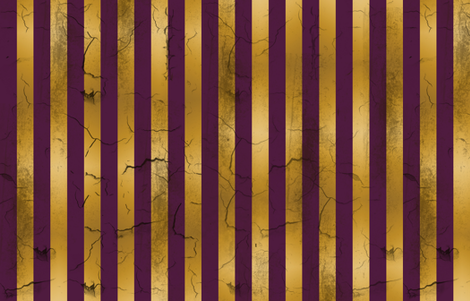Distressed Stripes Purple and Gold fabric by kellyw on Spoonflower - custom fabric