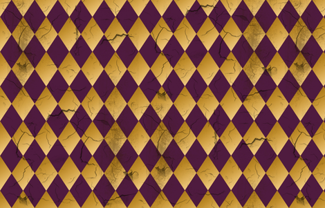 Distressed Harlequin Purple fabric by kellyw on Spoonflower - custom fabric