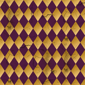Distressed Harlequin Purple