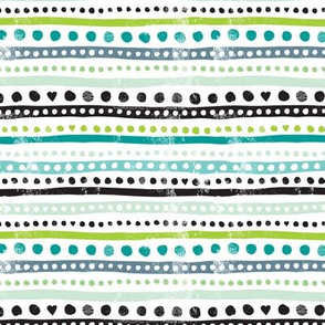 Ikat dots and stripes raw grunge textures aztec scandinavian style