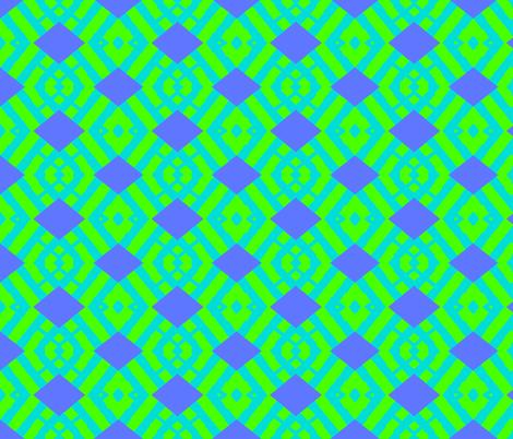 Diamond-back Inland Passage fabric by susaninparis on Spoonflower - custom fabric