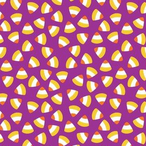 Candy Corn Purple