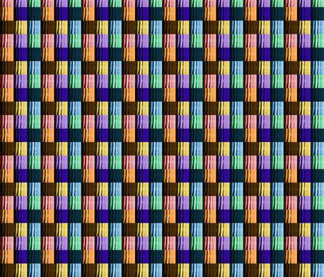 Saguaro Squares fabric by cottrellbentley on Spoonflower - custom fabric