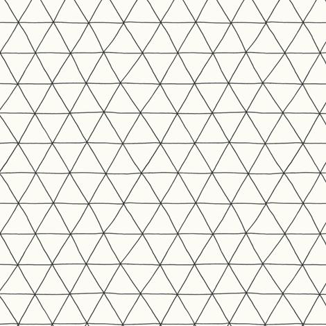 triangles fabric by bountifulstudio on Spoonflower - custom fabric