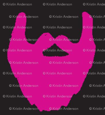 beard pink