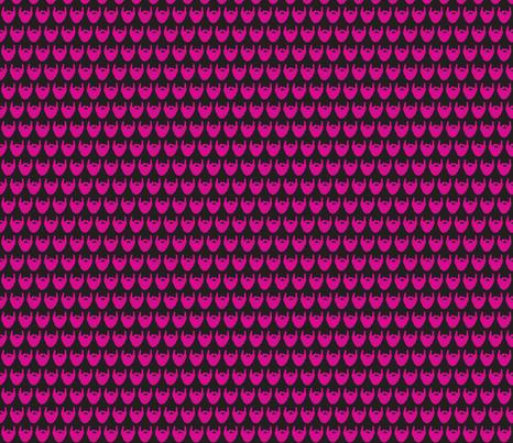 beard pink fabric by kristin82lude93 on Spoonflower - custom fabric