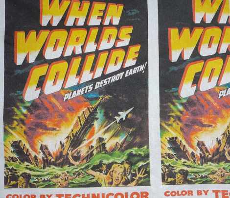When Worlds Collide, Planets Destroy Earth! 1951