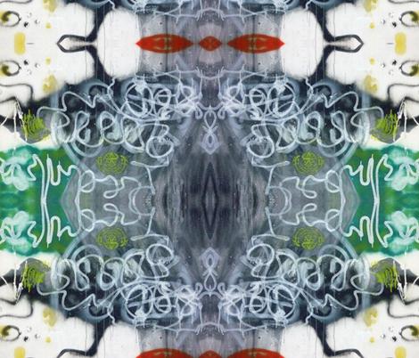 Deep Fried Circuitry fabric by susaninparis on Spoonflower - custom fabric