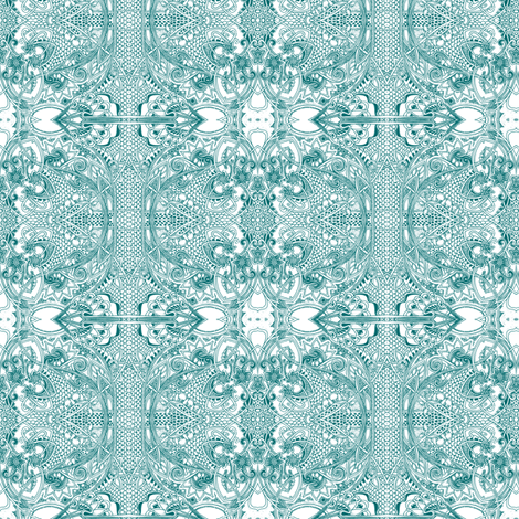 Raiding Granny's Lace Stash fabric by edsel2084 on Spoonflower - custom fabric